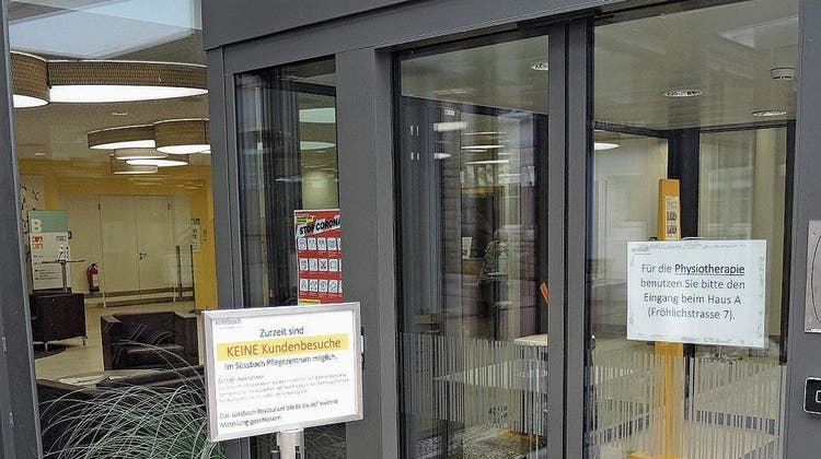 Wegen mehrerer Coronafälle: Pflegezentrum Süssbach macht für zwei Wochen dicht