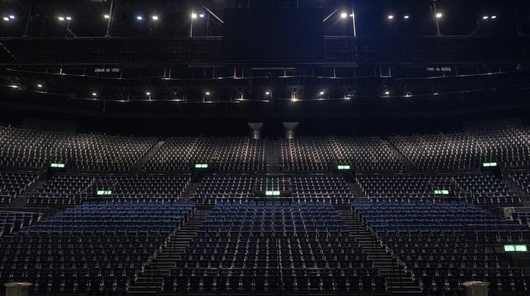 Ohne volle Konzerthallen wird es finanziell eng für die Eventbranche. Nun soll der Bund finanziell einspringen. (Symbolbild) (Keystone)