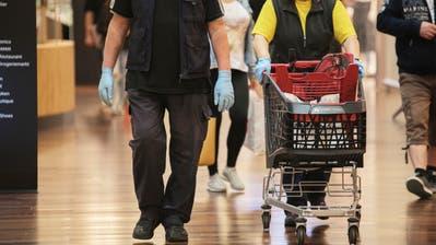 Trogen hat als Folge der ansteigenden Covid-19-Infektionen einen Einkaufsservice eingeführt. (Bild: Britta Gut)
