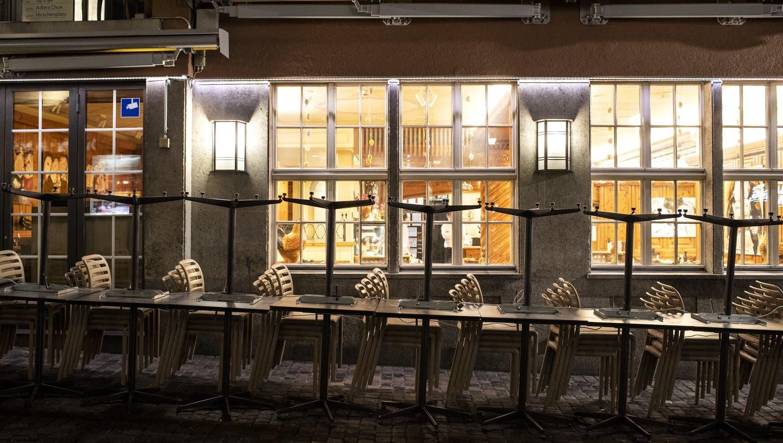 Gehen in der Gastronomie bald die Lichter aus? Die Betriebe hoffen immer noch auf einen Mieterlass– wohl vergebens. (Keystone)