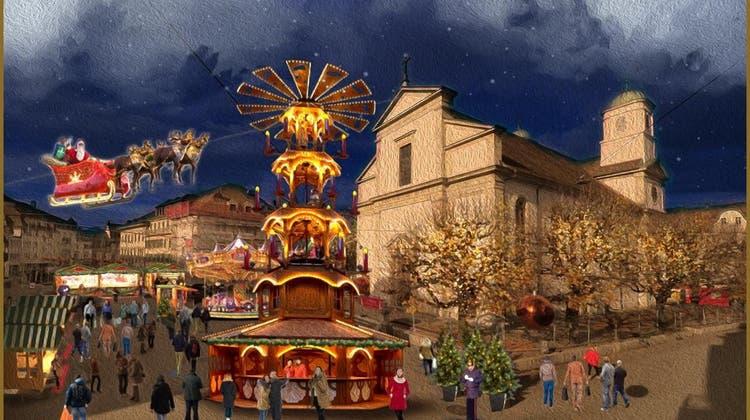 Adventsdorf mitten in der Stadt: Gewerbe Olten organisiert Anlass der besonderen Art