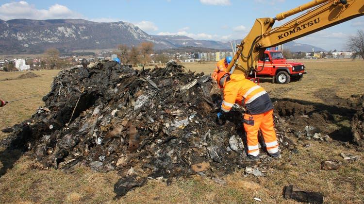 Der Bund unterstützt den Totalaushub aller drei Mülldeponien in Solothurn finanziell