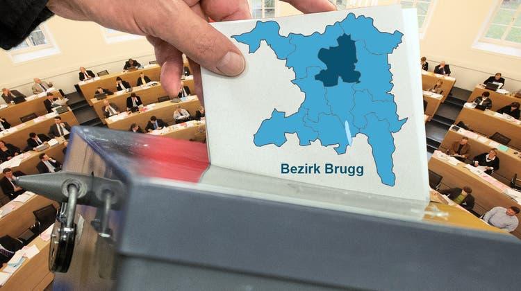 Wahlergebnisse Bezirk Brugg: Doris Iten (SVP) und Martina Sigg (FDP) abgewählt