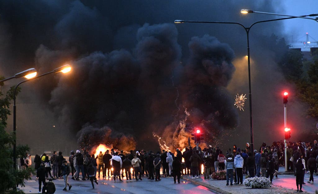 Unruhen Malmö