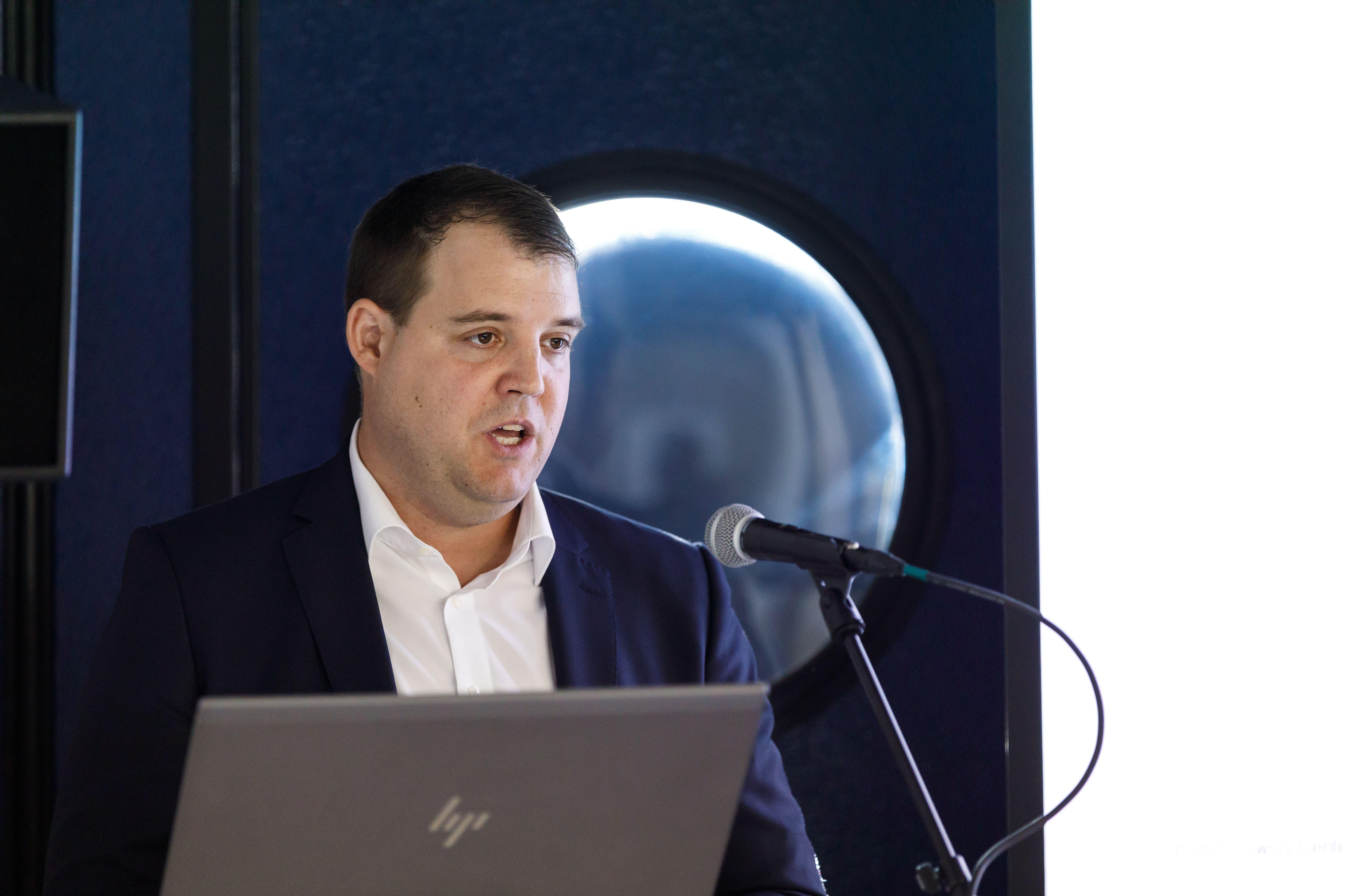 Nicolas Bouduban, CEO des Swiss m4m Center, stellt ein «riesigen Interesse» aus der ganzen Branche fest