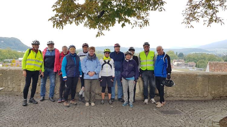 E-Bike-Herztour Olten – Fahrt zum Schloss Biberstein