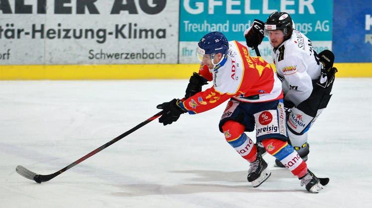 Zweite Niederlage: Der EHC Basel kommt nicht in Fahrt