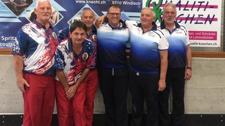 Aargauer Meisterschaft Terna, weiterer Erfolg für Boccia Club Möhlin