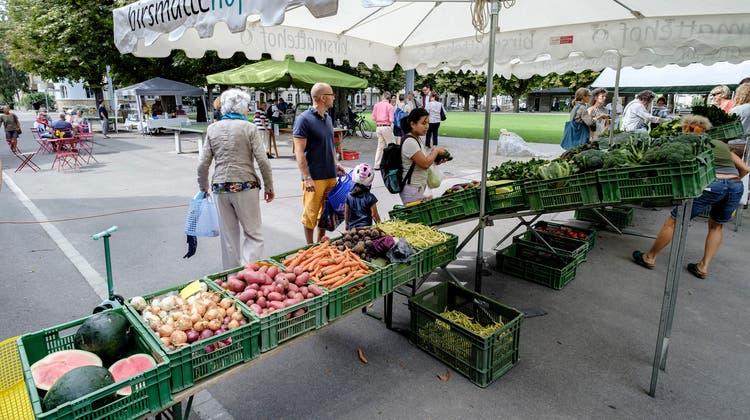 Marktnachwuchs im Iselin