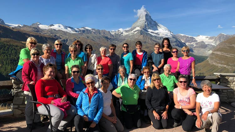 70 Jahre Frauenriege Frick - Geburtstagsreise nach Zermatt