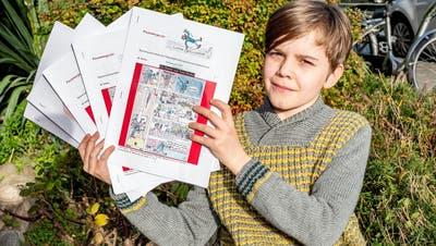 Der jüngste Verleger kommt aus Basel und ist 11 Jahre alt
