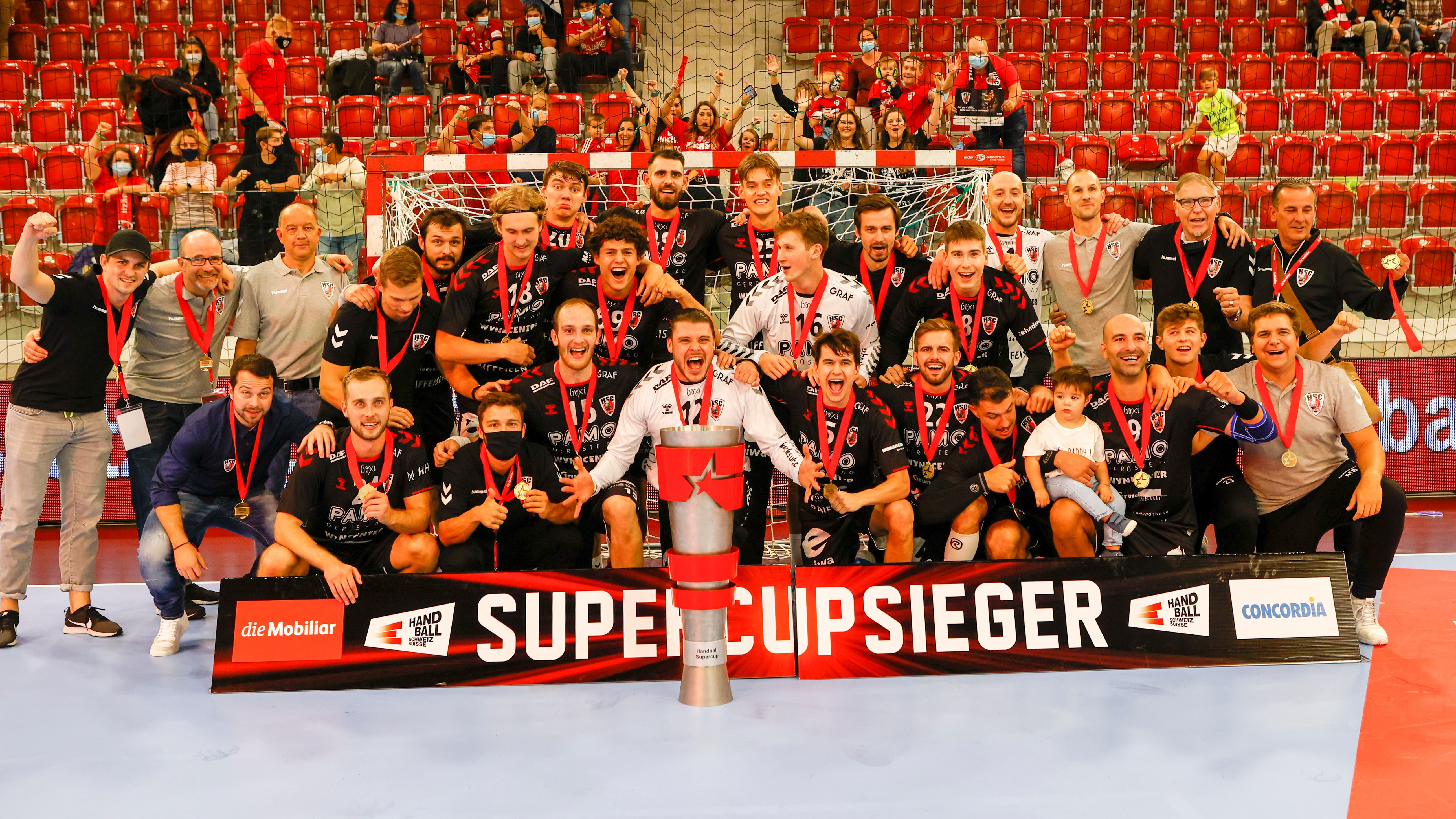 Impressionen vom Handball-Supercup (30. August 2020)