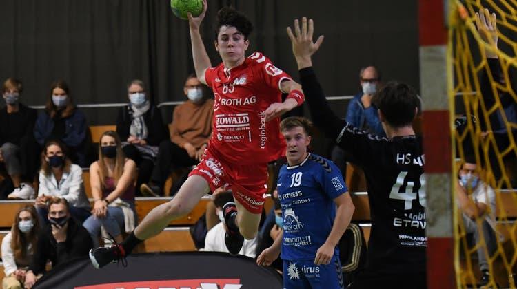 Sieg und Vorstoss auf den dritten Tabellenplatz: TV Solothurn gewinnt weiteres Derby gegen Biel