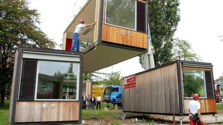 Stadtparlament investiert in neue Schulpavillons
