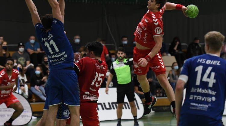 Auswärtspartie in der Romandie: Der TV Solothurn duelliert sich mit den Galliern des Schweizer Handballs
