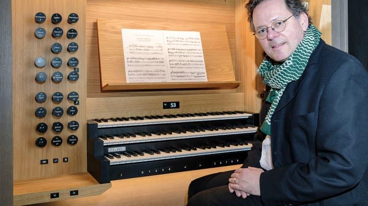 «Farbenreiches Klangspektrum»: Organist Christoph Kaufmann im Interview