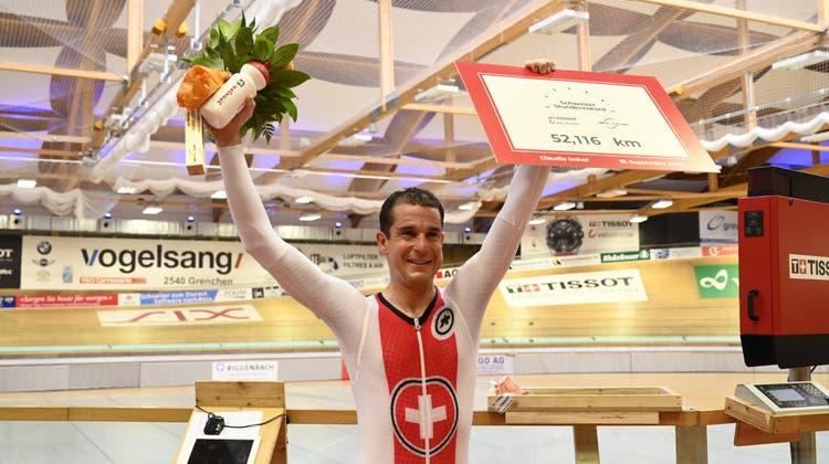 Claudio Imhof fährt mit Schweizer Rekord in die Weltelite
