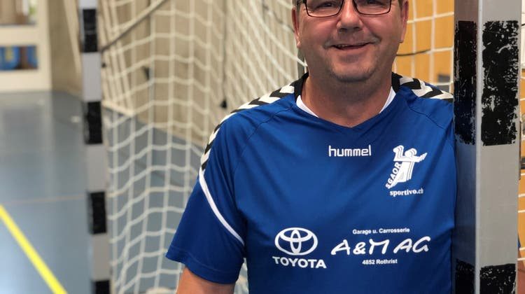 Grosse Ehre für den Mister Handball aus Rothrist: Peter Göbel ist für den Ehrenamtspreis nominiert