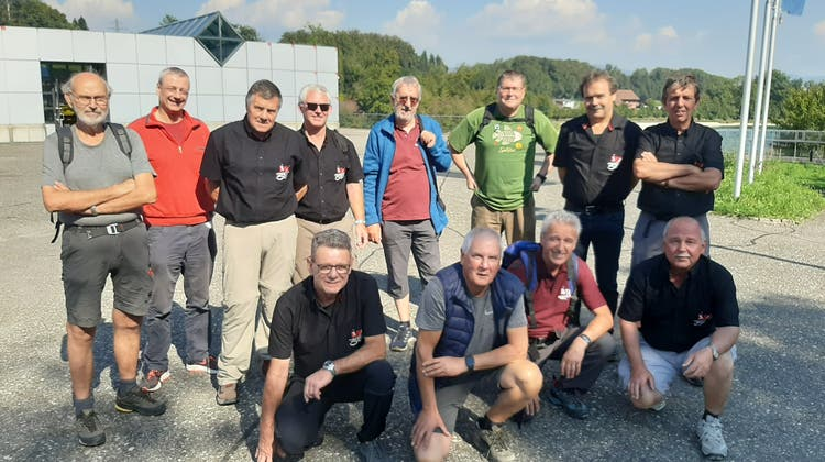 Vereinsreise Männerriege Horriwil zum Kraftwerk Wynau