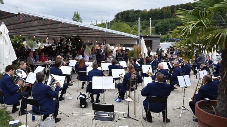 Hafenkonzert der Stadtmusik und Tambouren Solothurn