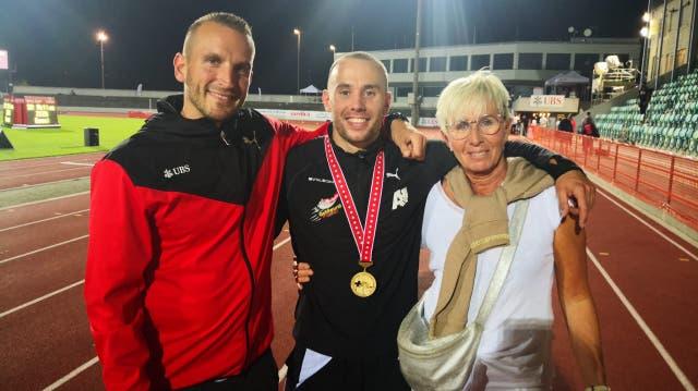 Erst Schweizer Meister, dann eine Schrecksekunde: Wie Silvan Wicki die Schweizer Meisterschaften erlebte
