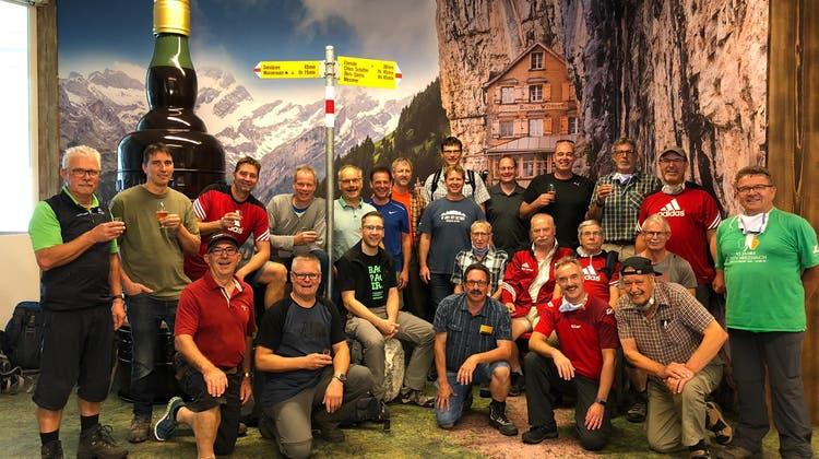 Vereinsreise MTV Herznach ins Appenzellerland