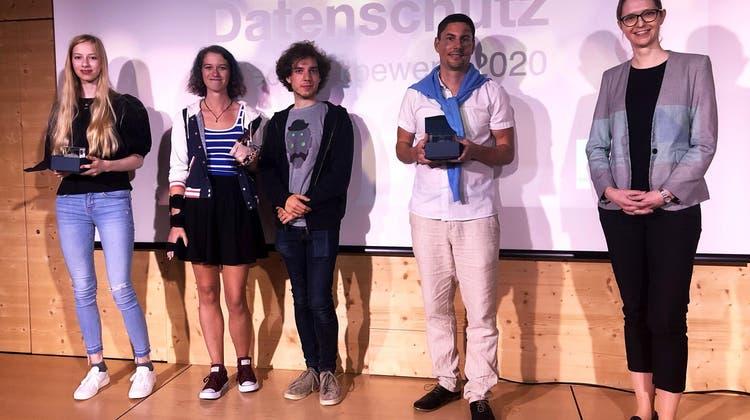 Die Sieger stehen fest – das sind die drei besten Videos zum Thema Datenschutz während Corona