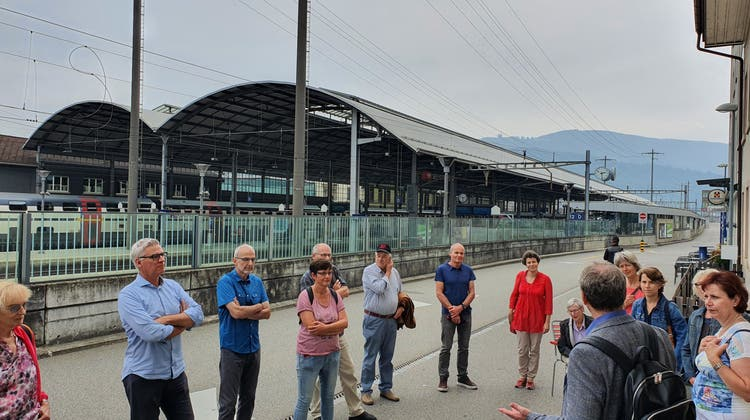 SP Starrkirch-Wil: Stadtführung Eisenbahnerstadt Olten
