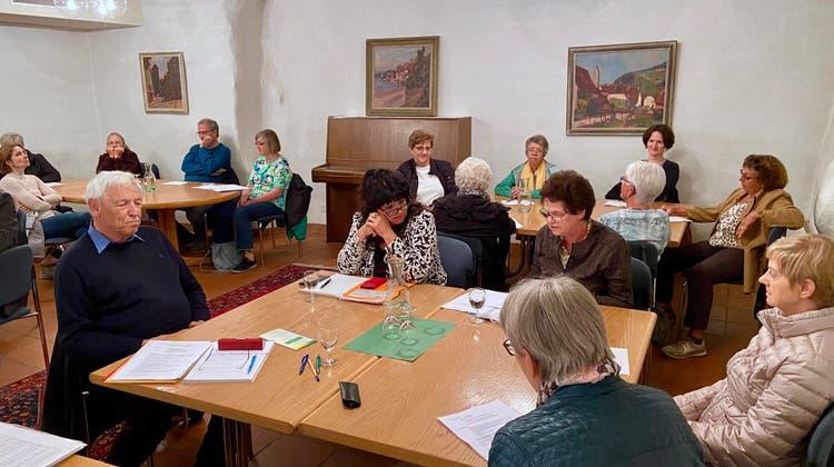 Verspätete Generalversammlung der vitaswiss Rheinfelden und Umgebung