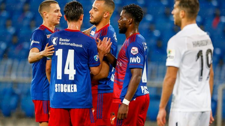 Erneut mit zwei Gesichtern: Der FCB gewinnt gegen Famagusta turbulent mit 3:2