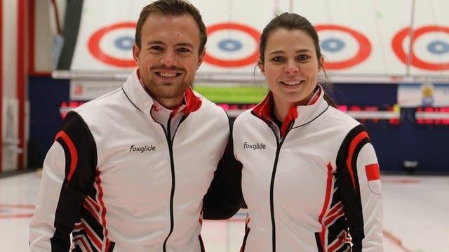 Erfolg für Baden Regio: Romano Meier und Lisa Gisler werden beim Mixed-Turnier in Bern starke Dritte