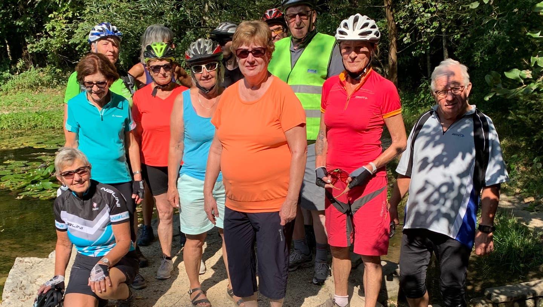 E-Bike Herztouren Olten - Fahrt zum Wolfwiler Biotop