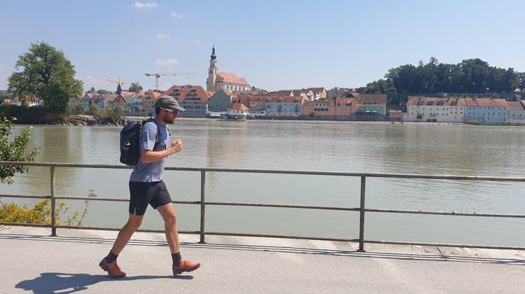 Ganze 3760 km: Extremsportler aus Aedermannsdorf umrundete Deutschland