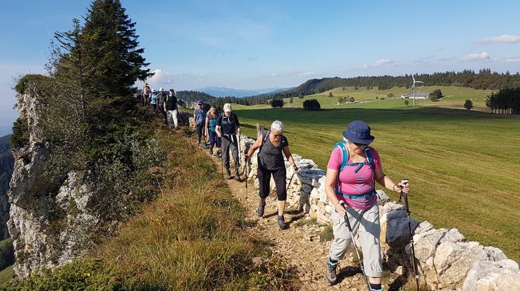 Carpe Diem - nutze den Weg! Pilgerwanderung vom Untergrenchenberg auf den Weissenstein