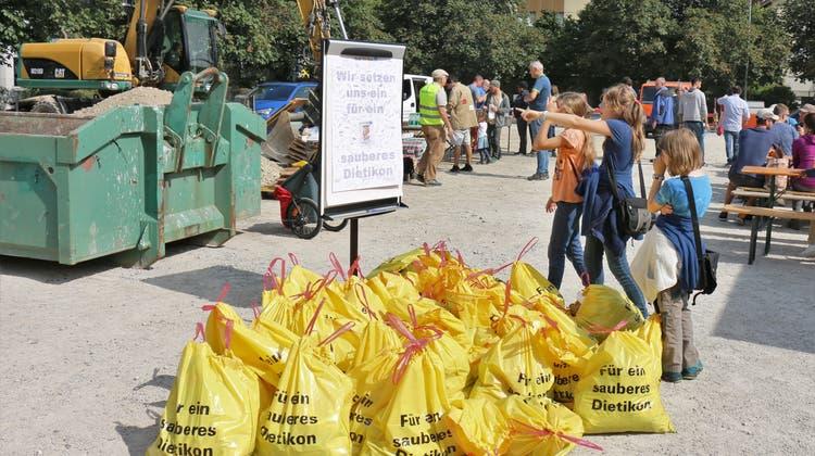 Bald kein Abfall mehr: Der Clean-Up-Day sorgt für ein sauberes Limmattal