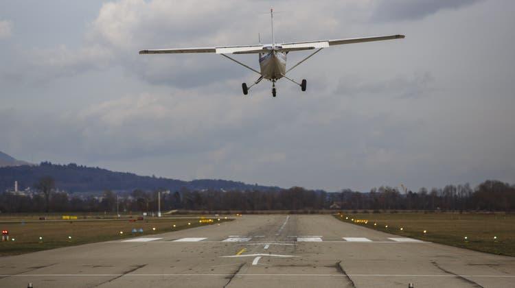 Der Flughafen Grenchen erachtet einen «Flugzeug-Fänger» als nicht sinnvoll