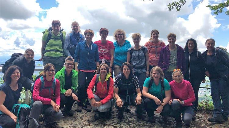 Turnerinnen B - Riegenreise führte in den heimischen Jura