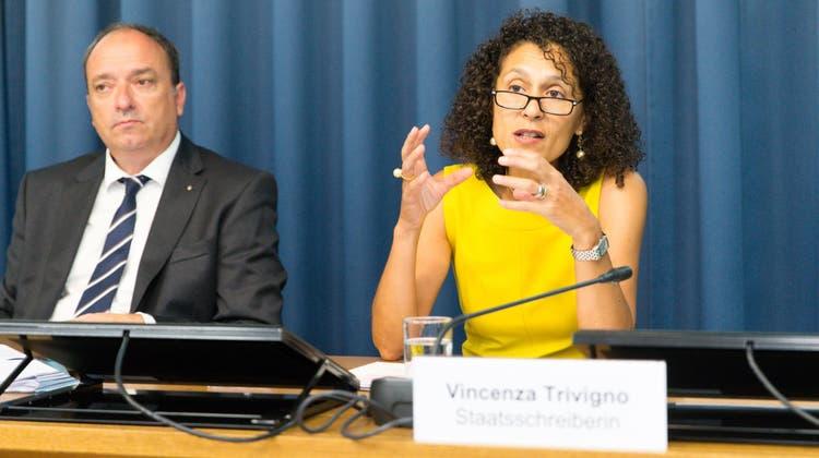 Aargauer Staatsschreiberin VincenzaTrivigno zu ihrem Rücktritt: «Es war eine extrem spannende Zeit»