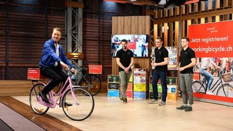 Aargauer Velo-Start-up bekommt in TV-Show eine Viertelmillion – lehnt aber ab