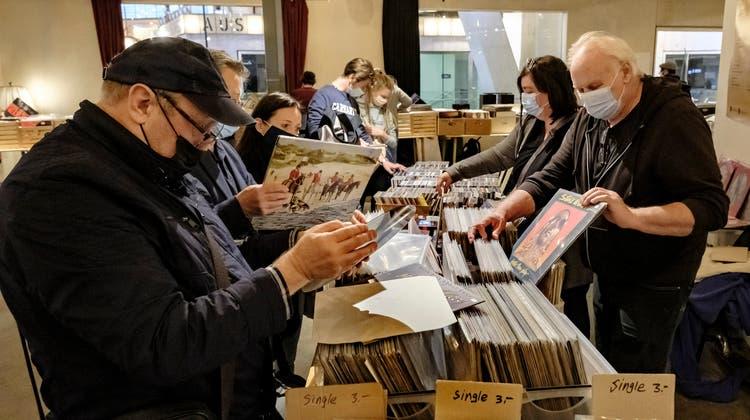 «Vinyl ist zurück» – wenigstens einen Tag lang