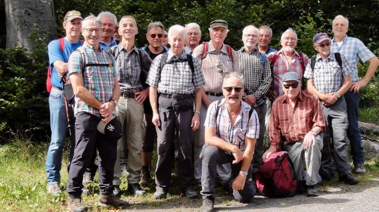 Der Männerturnverein Rheinfelden unterwegs.