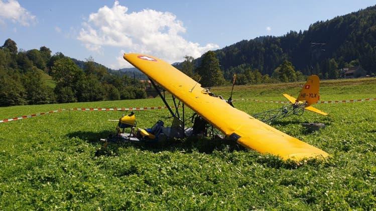 Notlandung wegen Triebwerksausfall in Bauma: Eigenbauflugzeug hatte Konstruktionsfehler