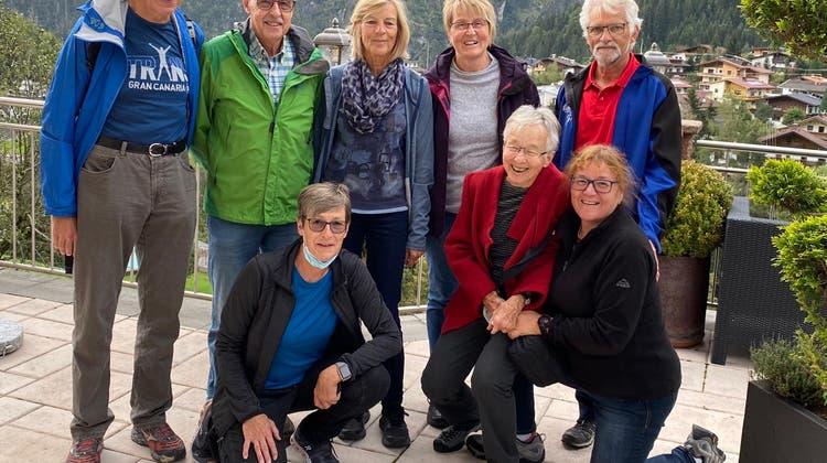 Weissenstein Runners wanderten im Zillertal