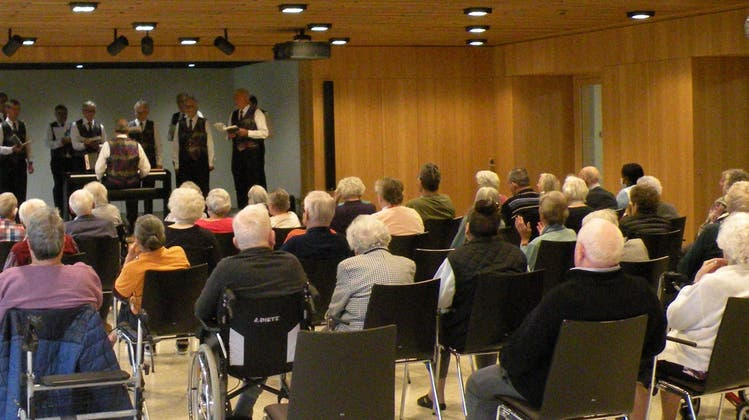 Auftritt im Alterszentrum Suhrhard Buchs