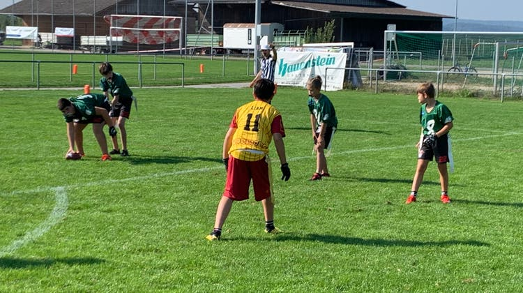 Die Flag Teams der Argovia Pirates spielten in Rafz