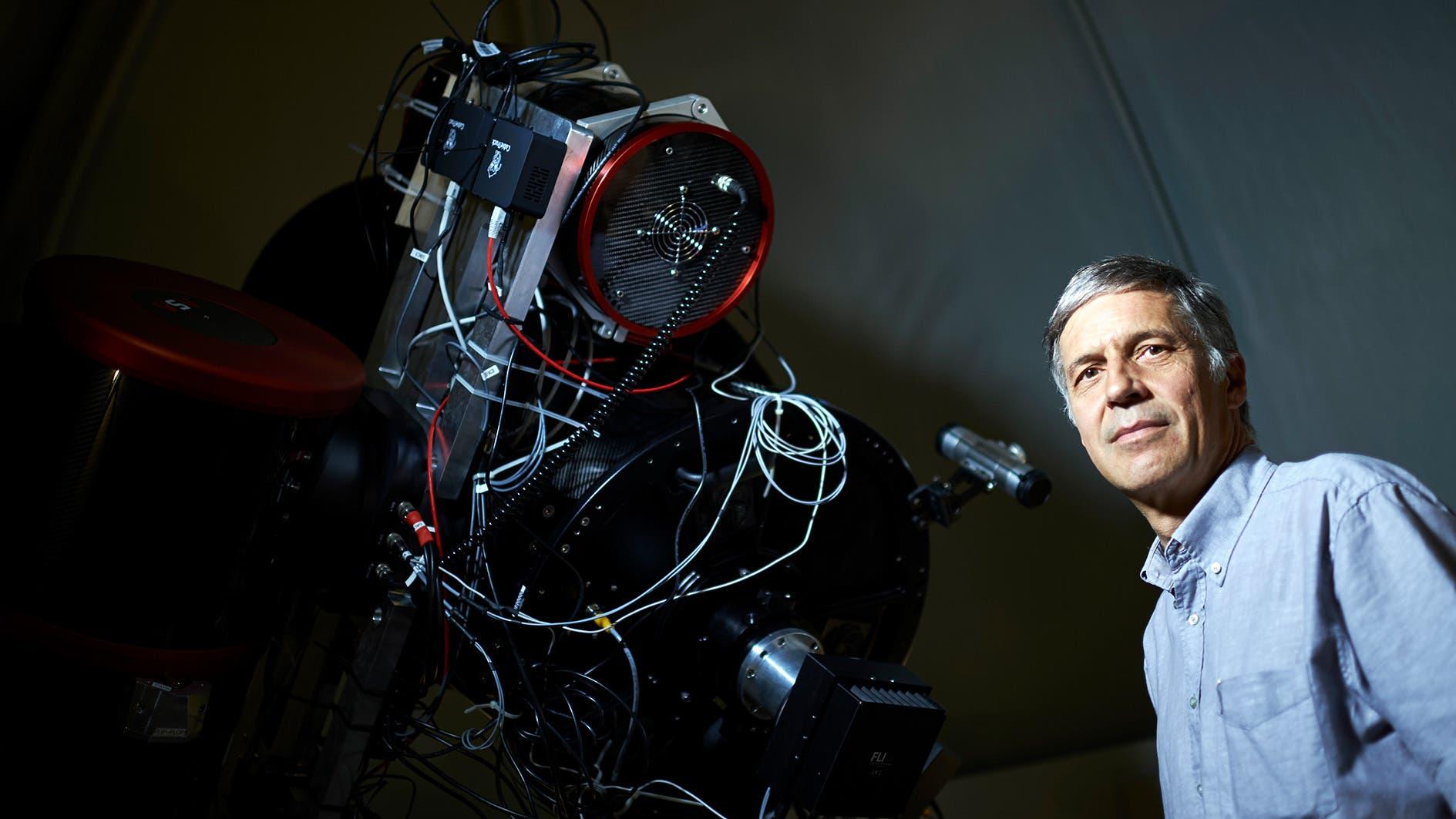 Berner Forscher beobachten Weltraumschrott