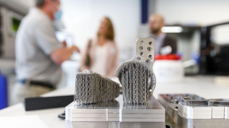 Ein «Glücksfall» für den Kanton: Hier werden Implantate aus dem 3D-Drucker hergestellt
