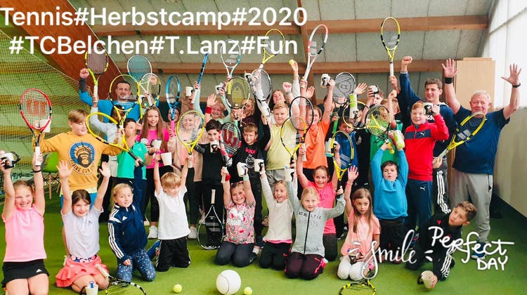 Herbstcamp des Tennisclub Belchen
