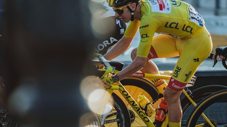 Grenchner Uhr schmückt Handgelenk des Tour de France-Siegers