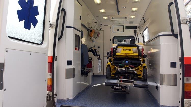 Rund ein Dutzend Rettungswagen der Solothurner Spitäler wird ersetzt